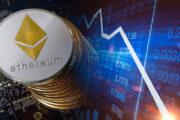 Цена Ethereum последовала за биткоином. Сильная поддержка находится на $1800